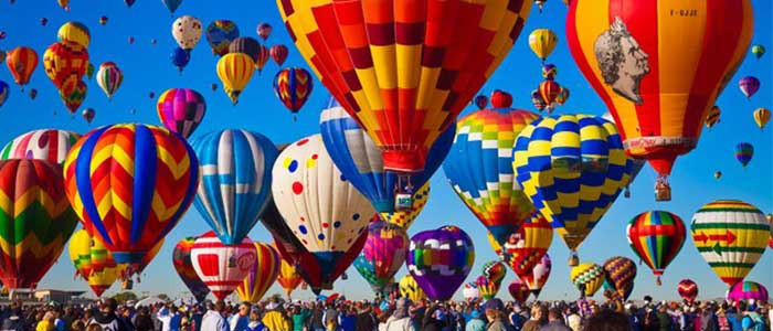 The Hot Air Balloon Festival